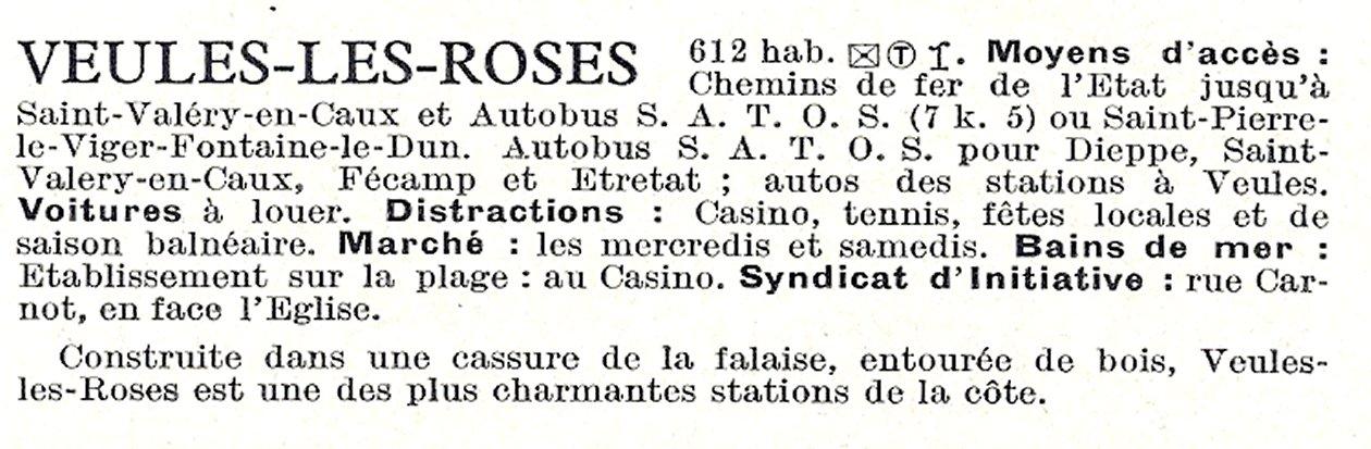 Casino veules les roses